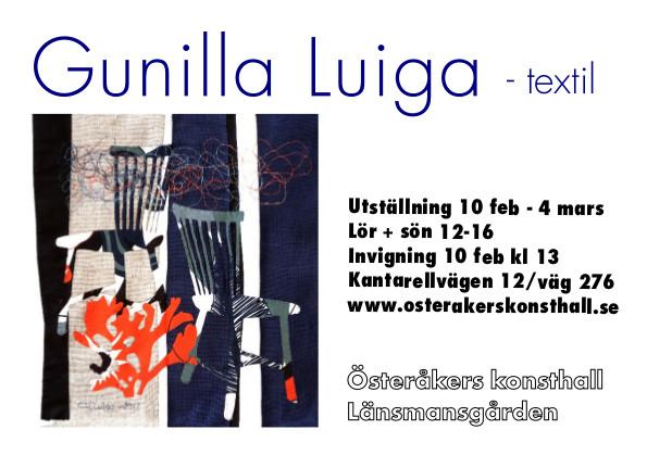 Gunilla Luiga-kort
