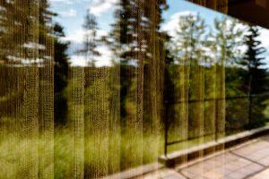 Curtain tagen på Täljövikens Kursgård